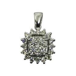 Gold Diamond Pendant 0.74 CT. T.W. Model Number : 2152