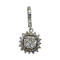 Gold Diamond Pendant 0.82 CT. T.W. Model Number : 2153