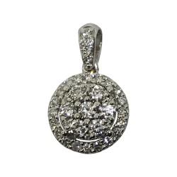 Gold Diamond Pendant 0.38 CT. T.W. Model Number : 2154