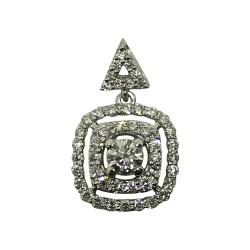 Gold Diamond Pendant 0.56 CT. T.W. Model Number : 2155