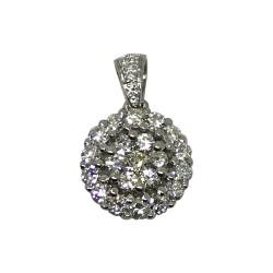 Gold Diamond Pendant 0.51 CT. T.W. Model Number : 2157