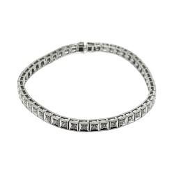 Gold Diamond Bracelet 1.57 CT. T.W. Model Number : 2160