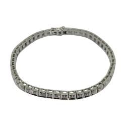 Gold Diamond Bracelet 2.01 CT. T.W. Model Number : 2161