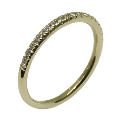 Gold Diamond Ring 0.15 CT. T.W. Model Number : 2187