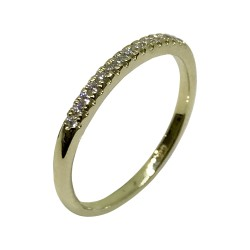 Gold Diamond Ring 0.11 CT. T.W. Model Number : 2191