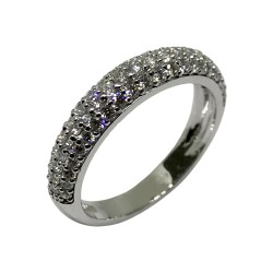 Gold Diamond Ring 0.81 CT. T.W. Model Number : 2199