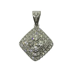 Gold Diamond Pendant 0.96 CT. T.W. Model Number : 2243