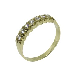 Gold Diamond Ring 0.28 CT. T.W. Model Number : 978