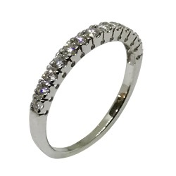Gold Diamond Ring 0.27 CT. T.W. Model Number : 2325