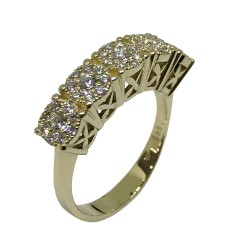 Gold Diamond Ring 0.65 CT. T.W. Model Number : 2327