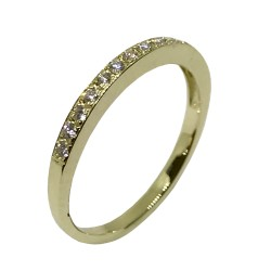 Gold Diamond Ring 0.17 CT. T.W. Model Number : 2352