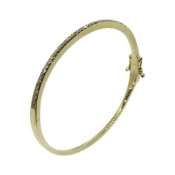 Gold Diamond Bracelet 0.82 CT. T.W. Model Number : 2362