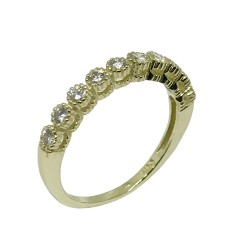 Gold Diamond Ring 0.38 CT. T.W. Model Number : 1097