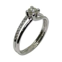 Gold Diamond Ring 0.36 CT. T.W. Model Number : 2392