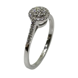 Gold Diamond Ring 0.33 CT. T.W. Model Number : 2401