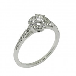 Gold Diamond Ring 0.33 CT. T.W. Model Number : 1107
