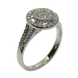 Gold Diamond Ring 0.5 CT. T.W. Model Number : 2457
