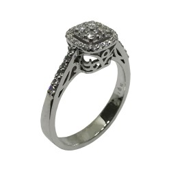 Gold Diamond Ring 0.43 CT. T.W. Model Number : 2508