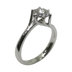 Gold Diamond Ring 0.34 CT. T.W. Model Number : 2509