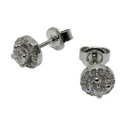 Gold Diamond EarRings 0.52 CT. T.W. Model Number : 2510