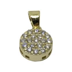 Gold Diamond Pendant 0.23 CT. T.W. Model Number : 2517