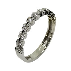 Gold Diamond Ring 0.2 CT. T.W. Model Number : 2526