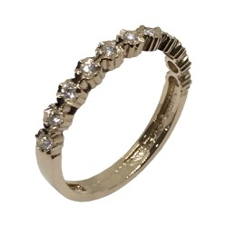 Gold Diamond Ring 0.2 CT. T.W. Model Number : 2528