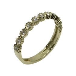 Gold Diamond Ring 0.2 CT. T.W. Model Number : 2529
