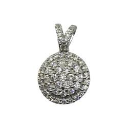 Gold Diamond Pendant 0.45 CT. T.W. Model Number : 2546