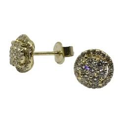 Gold Diamond EarRings 0.6 CT. T.W. Model Number : 2573