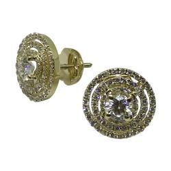 Gold Diamond EarRings 1.18 CT. T.W. Model Number : 2636
