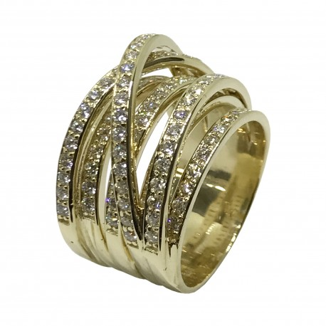 Gold Diamond Ring 2.01 CT. T.W. Model Number : 2645