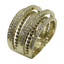 Gold Diamond Ring 0.76 CT. T.W. Model Number : 2658