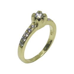 Gold Diamond Ring 0.5 CT. T.W. Model Number : 971