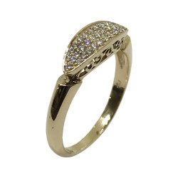 Gold Diamond Ring 0.22 CT. T.W. Model Number : 2710