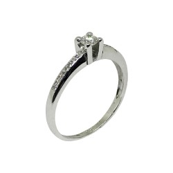 Gold Diamond Ring 0.21 CT. T.W. Model Number : 446