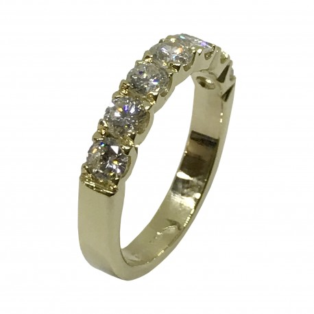 Gold Diamond Ring 1.12 CT. T.W. Model Number : 2742