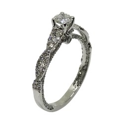 Gold Diamond Ring 1.02 CT. T.W. Model Number : 2774