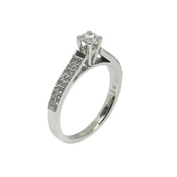 Gold Diamond Ring 0.57 CT. T.W. Model Number : 465