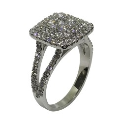 Gold Diamond Ring 1.29 CT. T.W. Model Number : 2800