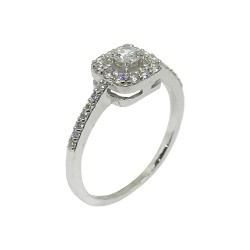 Gold Diamond Ring 0.47 CT. T.W. Model Number : 535