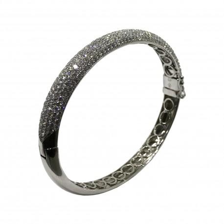 Gold Diamond Bracelet 6.4 CT. T.W. Model Number : 2803