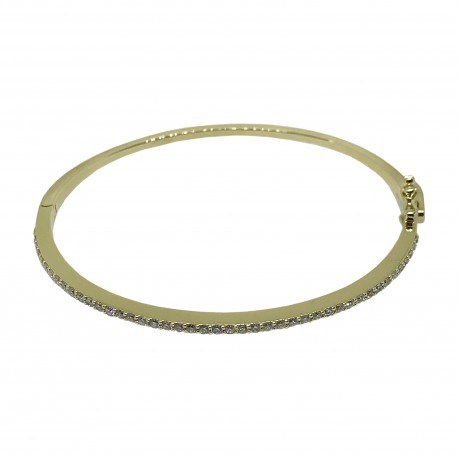 Gold Diamond Bracelet 0.61 CT. T.W. Model Number : 2815