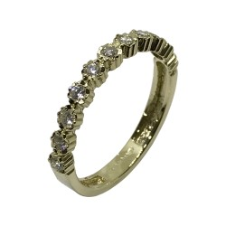 Gold Diamond Ring 0.27 CT. T.W. Model Number : 2860