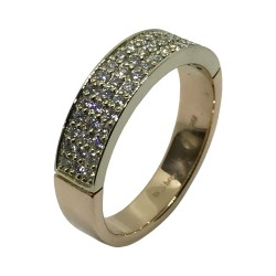 Gold Diamond Ring 0.48 CT. T.W. Model Number : 2868