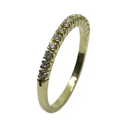 Gold Diamond Ring 0.22 CT. T.W. Model Number : 2874