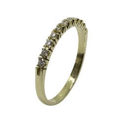 Gold Diamond Ring 0.17 CT. T.W. Model Number : 2877
