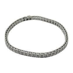 Gold Diamond Bracelet 0.86 CT. T.W. Model Number : 2892