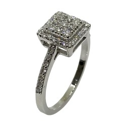 Gold Diamond Ring 0.51 CT. T.W. Model Number : 2897