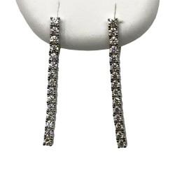 Gold Diamond EarRings 1.37 CT. T.W. Model Number : 2909